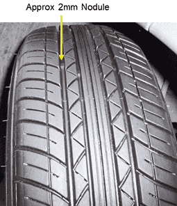Show and Tell (Vehicle Safety Checks) - Tyre diagram